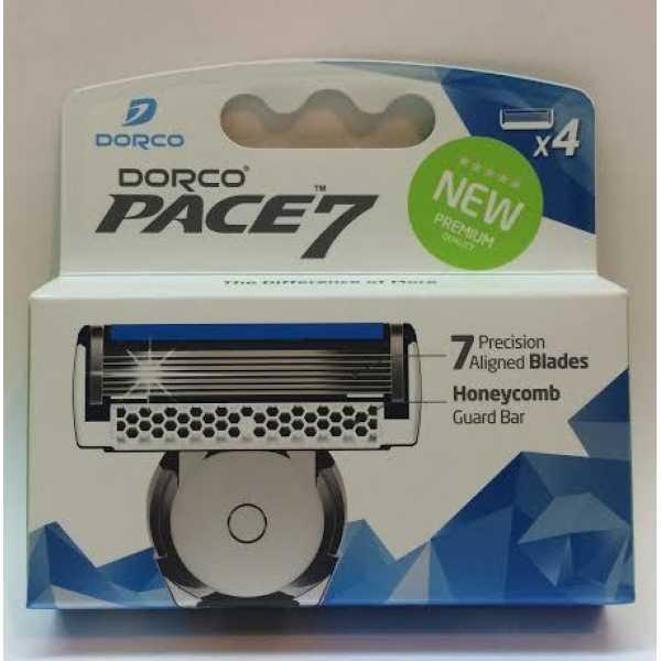 Сменные лезвия Dorco Pace 7 4шт