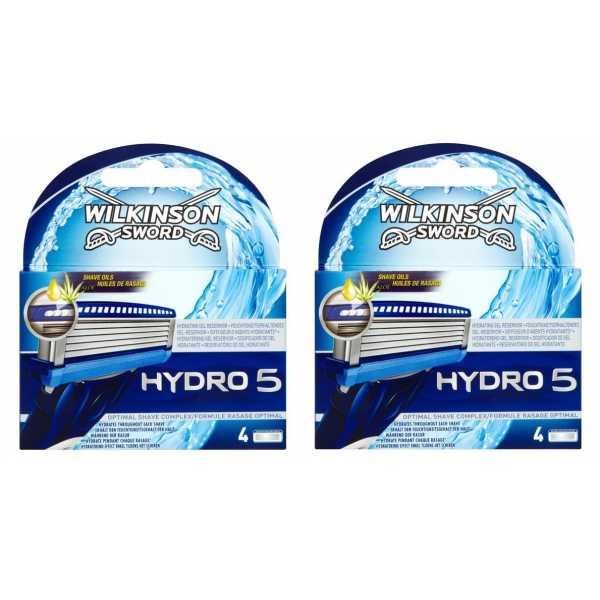 Сменные лезвия Schick Wilkinson Sword Hydro 5, 4 шт