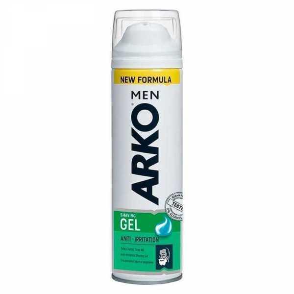 Гель для бритья Arko Anti-Irritation, 200 мл