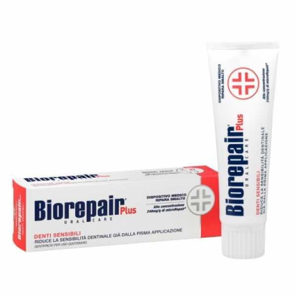 Зубная паста Biorepair Denti Sensibili Plus для чувствительных зубов, 75ml