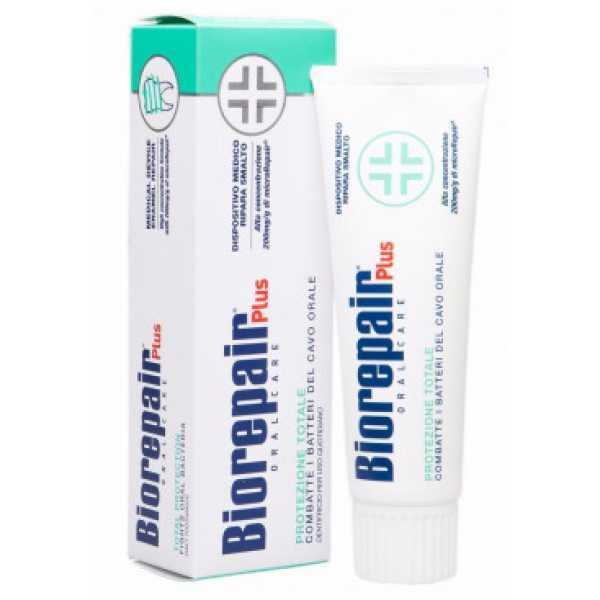 Biorepair Total Protezione Plus - Зубная паста для комплексной защиты полости рта 75ml