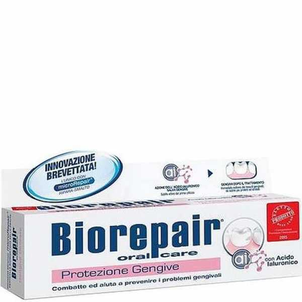 Зубная паста Biorepair Gum Protection Gengive Delicate для защиты дёсен, 75 мл