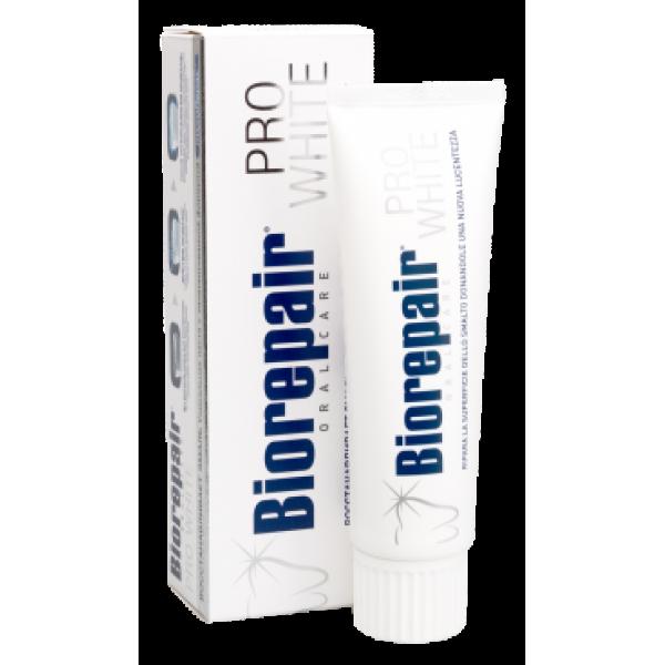 Зубная паста BIOREPAIR PRO WHITE Отбеливающая зубная паста 75ml