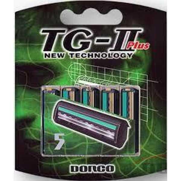 Сменные лезвия Dorco TG-II Plus, 5шт