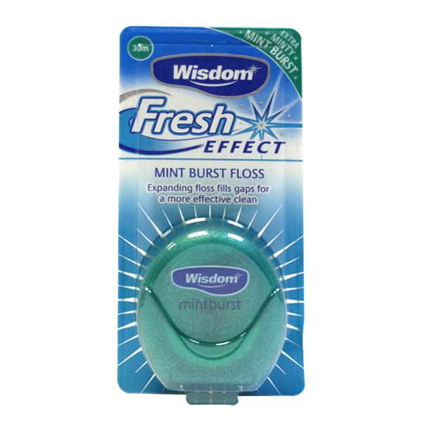 Зубная нить Wisdom Fresh Effect Floss