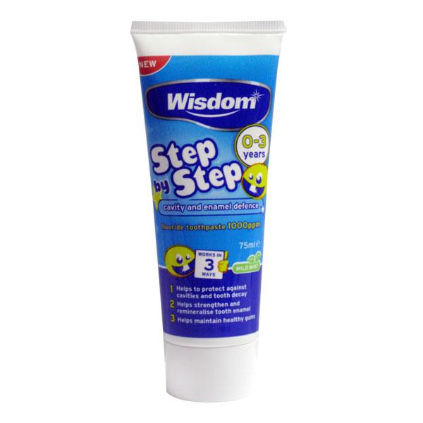 Детская зубная паста Wisdom Toothpaste 0-3