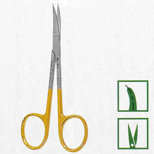 Ножницы, IRIS, 11&#180-,5 cm,острые/острые, изогнутые