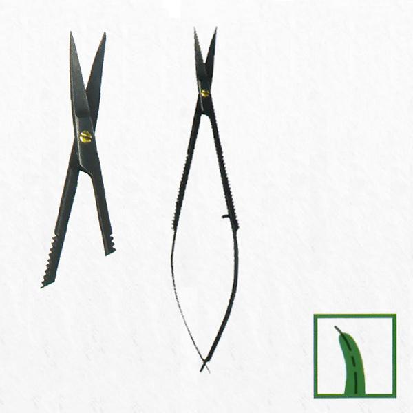 Ножницы,десневые, с керамич покрытием микро CASTROVIEJO, 15 cm