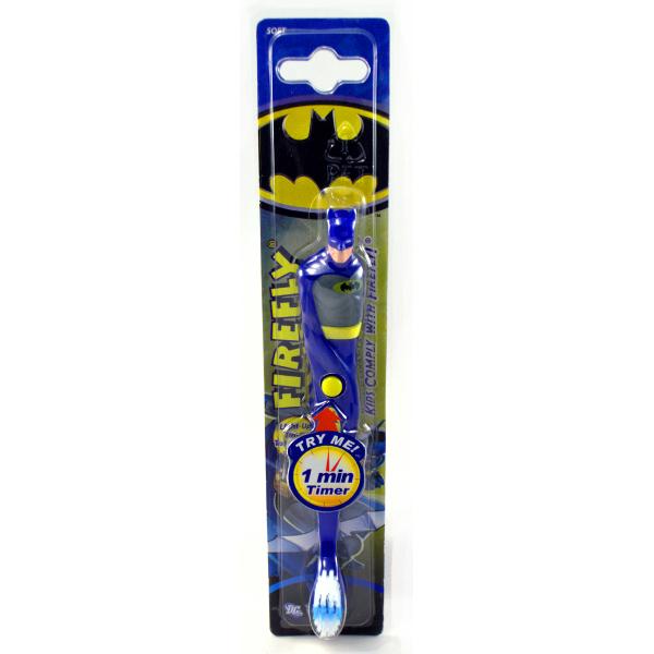 Детская зубная щетка Batman FIREFLY от 3 лет