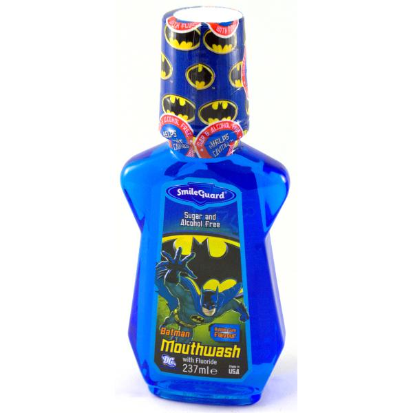 Детский ополаскиватель для рта Batman Mouthwash от 6 лет