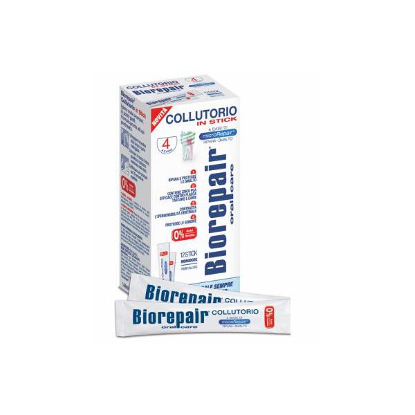 BIOREPAIR 4-ACTION  MOUTHWASH Концентрированная жидкость для полоскания полости рта, 12 пакетиков по 12ml