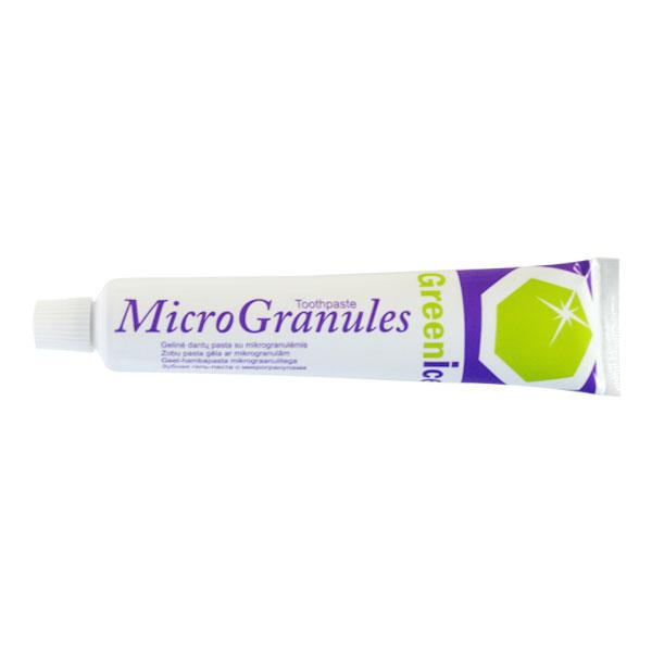 Зубная паста GreenIce Micro Granules для брекетов