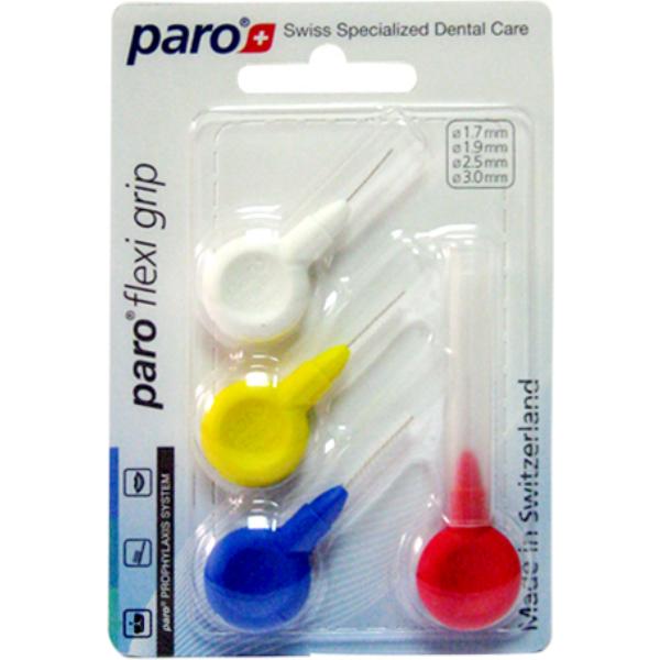 Набор ершиков Paro Flexi Grip Set, 1,7-1,9-2,5-3мм