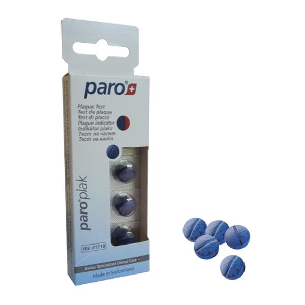 Paro Plaque Таблетки для определения налета, 10шт