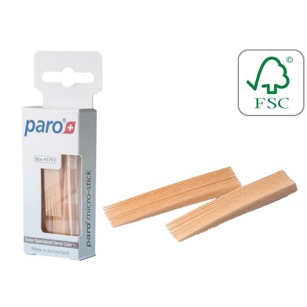 Paro Sticks Micro Зубочистки трехгранные.