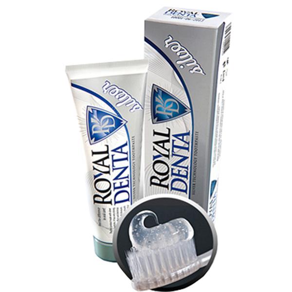 Зубная паста Royal Denta Silver зубная паста