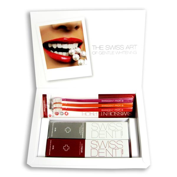 Набор для чистки зубов Swissdent Подарочный