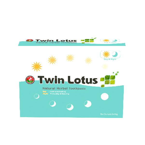 Зубная паста Twin Lotus Day&Night 2 пасты по 90г