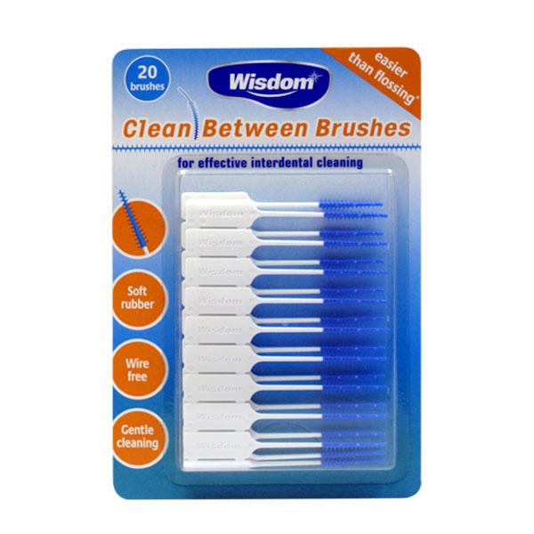 Набор чистящих конических ершиков Wisdom Clean Between Brushes