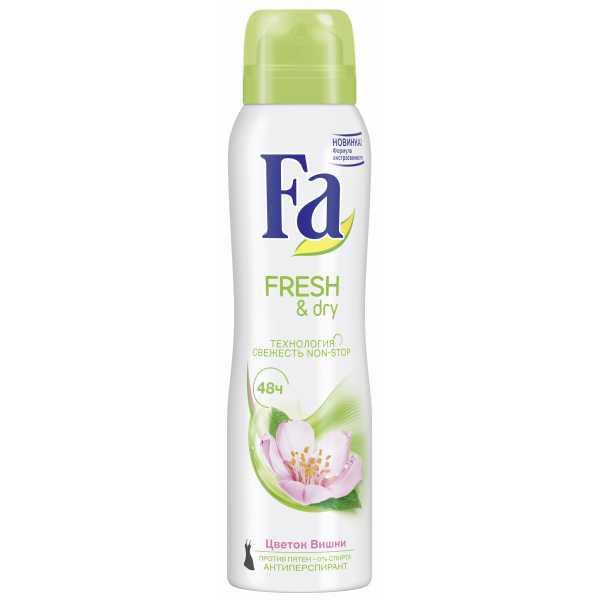 Fa спрей 150мл Fresh & Dry Цветок Вишни