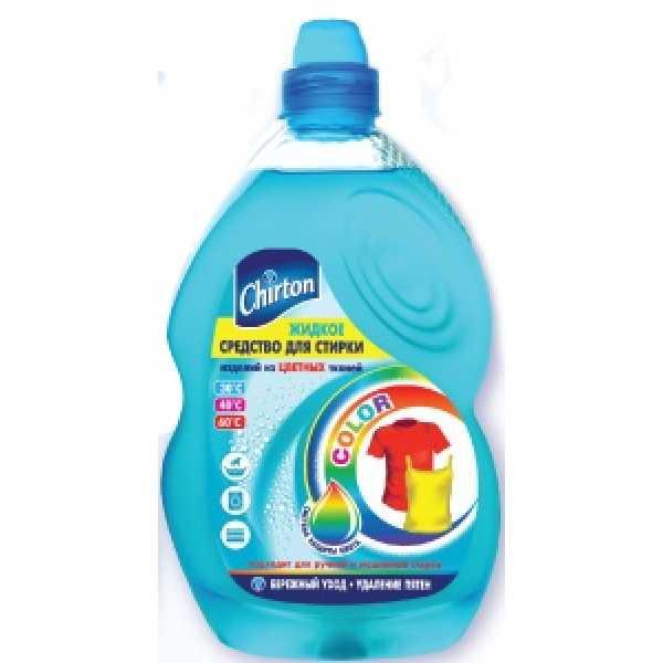 Chirton Color Жидкое средство для стирки  ЦВЕТНЫХ тканей   1,35 л