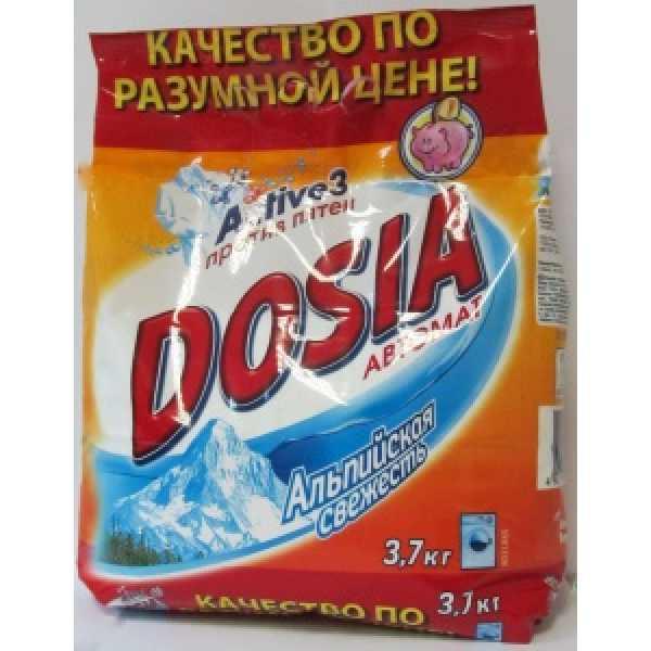 DOSIA Автомат 3,7кг  Альп. свежесть