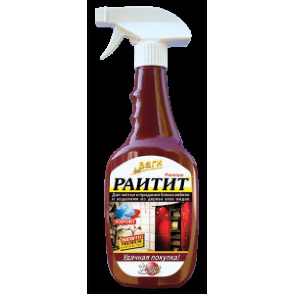 БАГИ Bagi   Раитит-спрей для чистки и блеска мебели всех типов  550мл