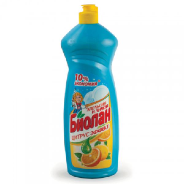 БИОЛАН 1000 мл для посуды   Апельсин и Лимон