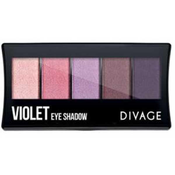 Divage Палетка теней для век Violet