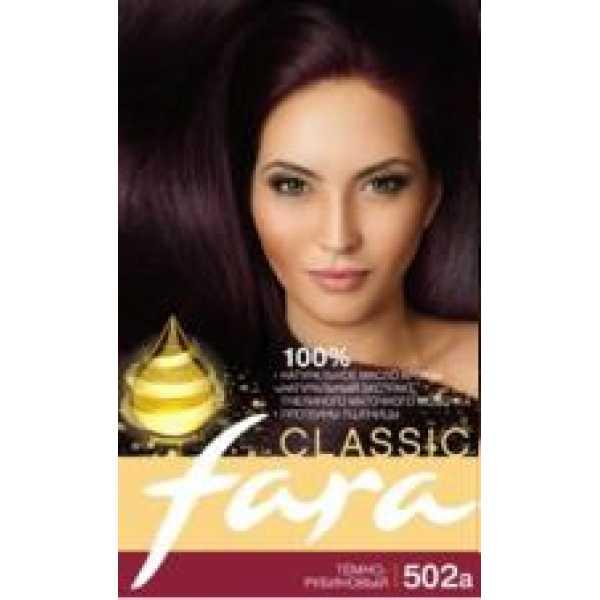 Fara (Фара) Classic 502а темно - рубиновый
