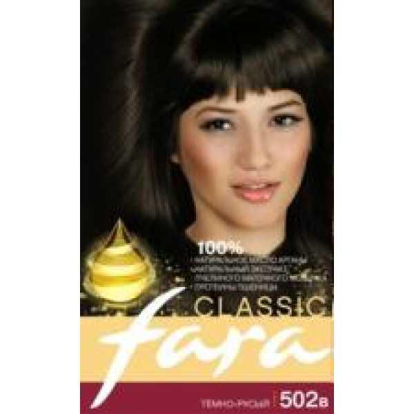 Fara (Фара) Classic 502в  темно-русый