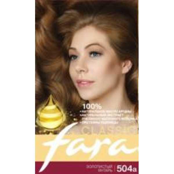 Fara (Фара) Classic 504а  золотистый янтарь