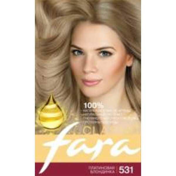 Fara (Фара) Classic 531  платиновая блондинка