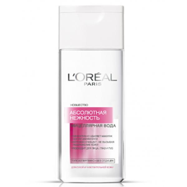 L,OREAL  Абсолютная Нежность мицеллярнаярная вода для  чувствительной  кожи 200мл