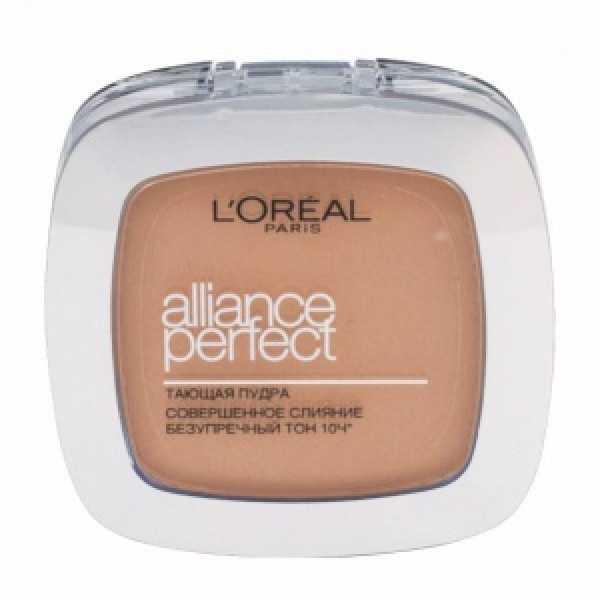 """L'Oreal Paris Пудра """"Alliance Perfect, Совершенное слияние"""", выравнивающая и увлажняющая, оттенок D5, 9 г"""