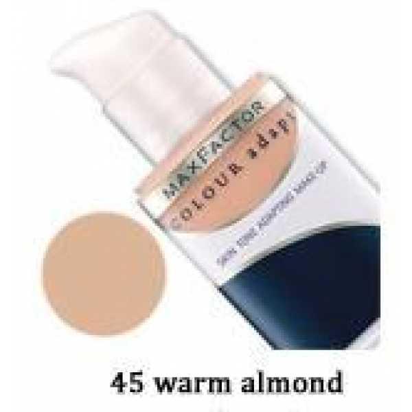 MAX FACTOR тональный крем  COLOUR adapt 45 теплый миндаль
