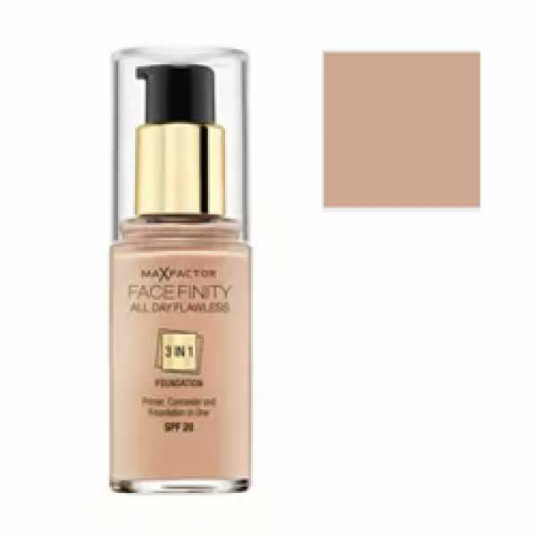 MAX FACTOR Тональная Основа Facefinity All Day Flawless 3-in-1 40 тон light ivory