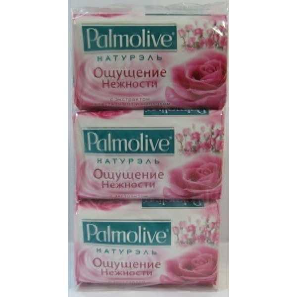 PALMOLIVE мыло 90гр ОЩУЩЕНИЕ НЕЖНОСТИ Молоко и роза