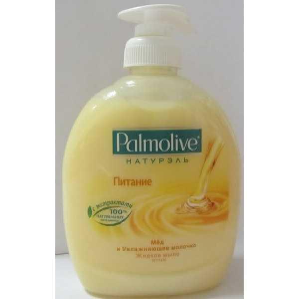 PALMOLIVE Жидкое мыло 300мл ПИТАНИЕ  Молоко и Мед