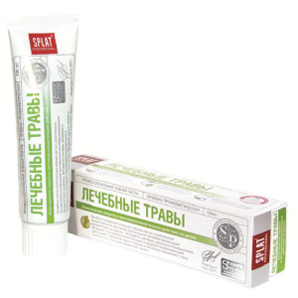СПЛАТ (SPLAT) Зубная паста 100мл  Лечебные травы