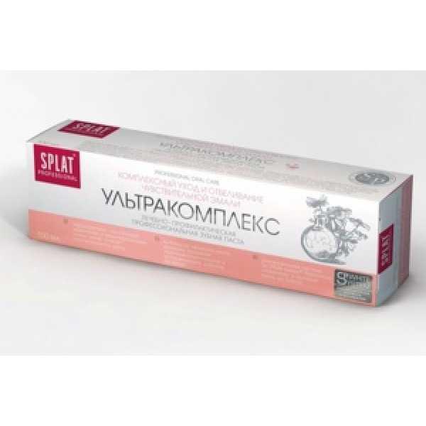 СПЛАТ (SPLAT) Зубная паста 100мл  Ультракомплекс