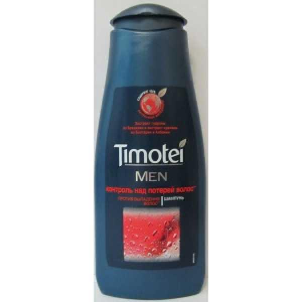 Timotei Шампунь  400мл мужской  Контроль над потерей волос