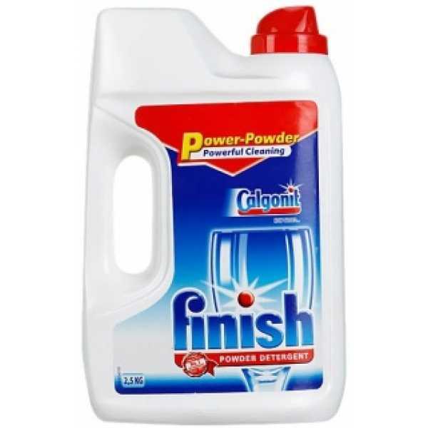 Порошок для посудомоечных машин FINISH POWER POWDER, 2.5 кг