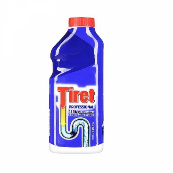 Tiret гель Professional, для удаления и профилактики засоров, 500 мл