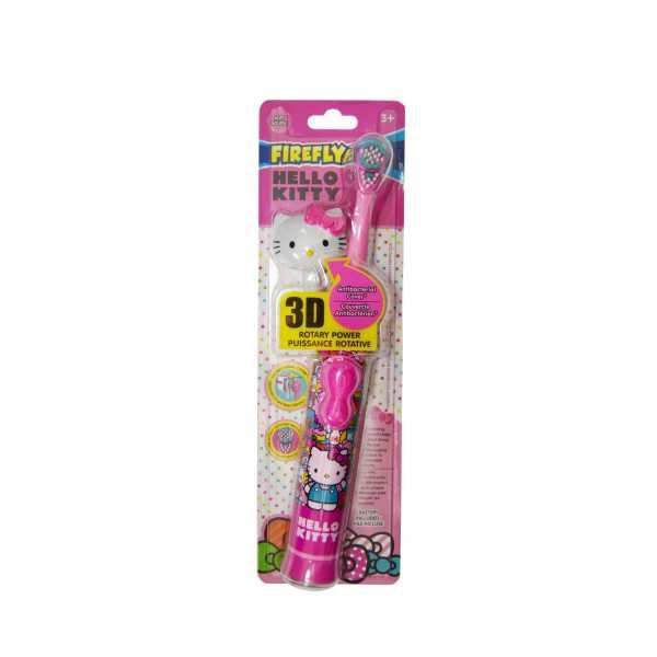 Электрическая зубная щетка Hello Kitty Rotary Toothbrash with 3D cap