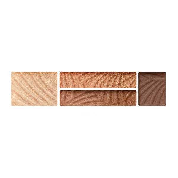 4-х цветные тени для век и бровей Max Factor Smokey Eye Drama Kit 2 В 1 03