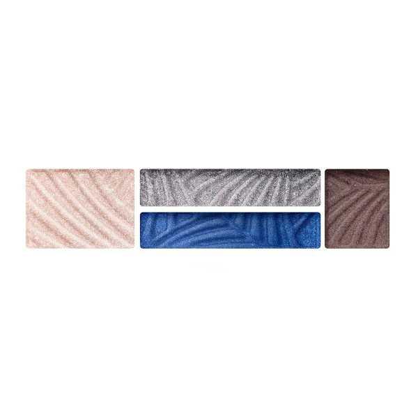 4-х цветные тени для век и бровей Max Factor Smokey Eye Drama Kit 2 В 1 06