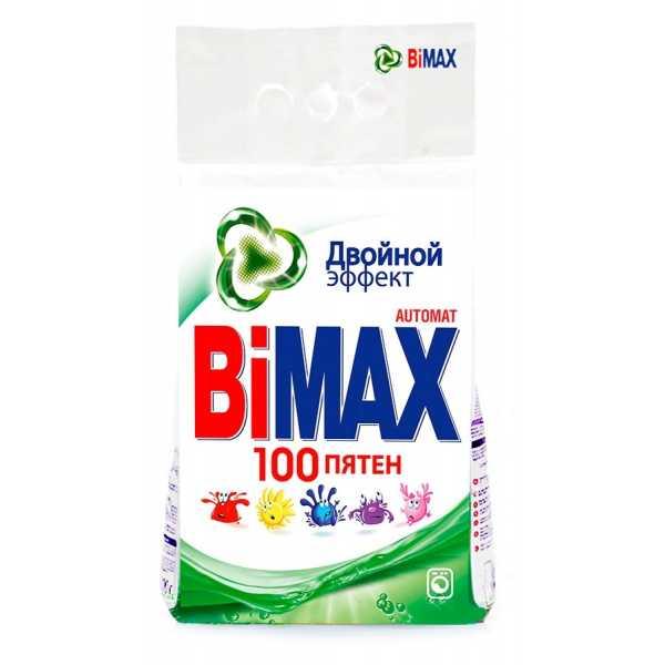 """Стиральный порошок Bimax """"100 пятен"""", автомат, 3 кг"""