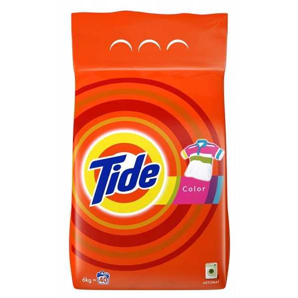 Стиральный порошок Tide автомат Color, 6 кг