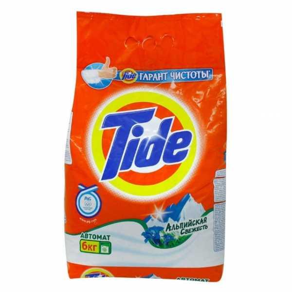 """Стиральный порошок Tide автомат """"Альпийская свежесть"""", 6 кг"""
